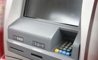ATM清掃